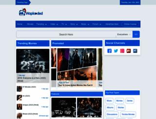 waploaded.com.ng screenshot