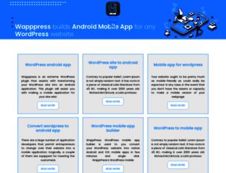 wapppress.com screenshot