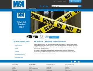 waproducts.co.uk screenshot