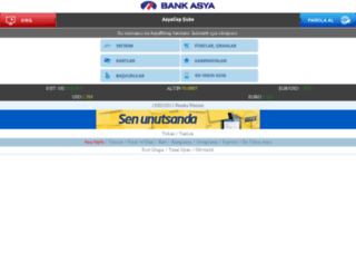 wapsubetest.bankasya.com.tr screenshot