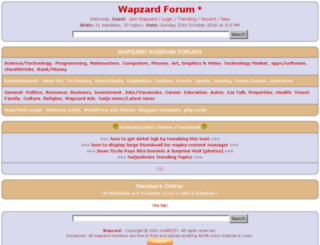 wapzard.com screenshot