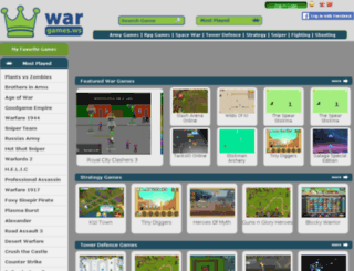 war-games.ws screenshot