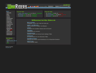 war-riders.de screenshot