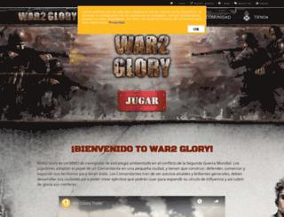 war2glory.es screenshot