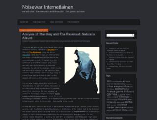warandnoise.com screenshot