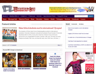 warangalcity.co.in screenshot