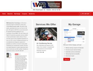 warautomotivetechnology.com screenshot