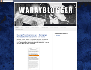warayblogger.com screenshot