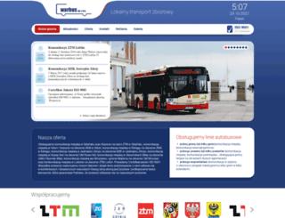 warbus.pl screenshot