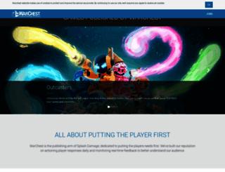 warchest.com screenshot