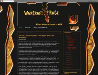 warcraftrage.blogspot.com screenshot