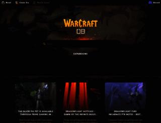warcraftrealms.com screenshot