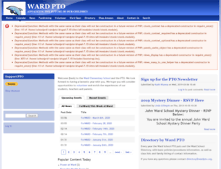 wardpto.org screenshot