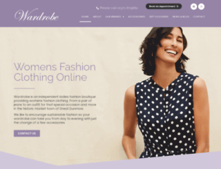 wardrobe-uk.com screenshot