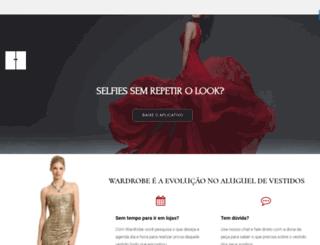 wardrobe.com.br screenshot