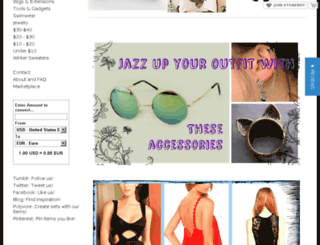 wardrobecafe.storenvy.com screenshot