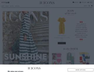 wardrobeicons.com screenshot