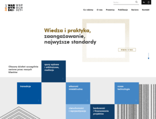 wardynski.com.pl screenshot