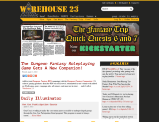 warehouse23.com screenshot