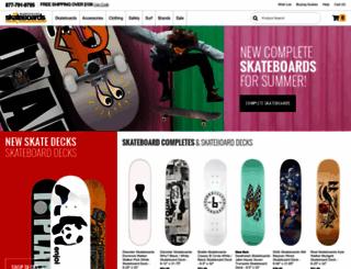 warehouseskateboards.com screenshot