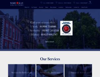 warekay.co.uk screenshot