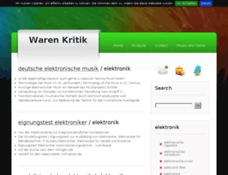 warenkritik.com screenshot