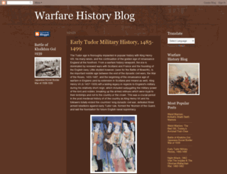 warfarehistorian.blogspot.com screenshot