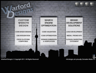 warford-designs.com screenshot