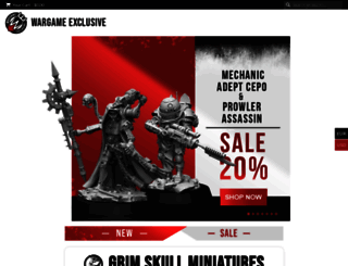 wargameexclusive.com screenshot