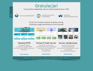 warhammer.com.pl screenshot