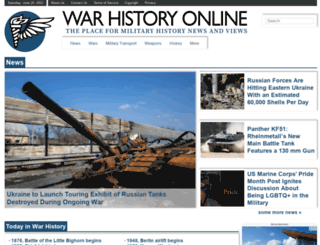 warhistoryonline.com screenshot