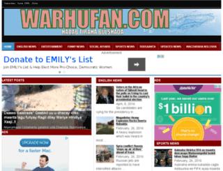 warhufan.com screenshot