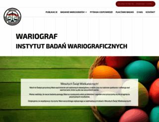 wariograf.com.pl screenshot