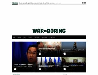warisboring.com screenshot