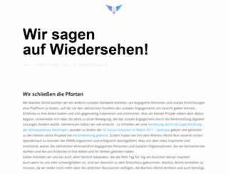 warless-world.org screenshot