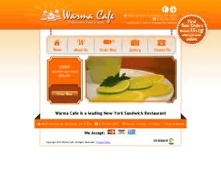 warmacafe.com screenshot