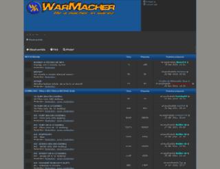 warmacher.com screenshot