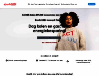 warmetruiendag.nl screenshot