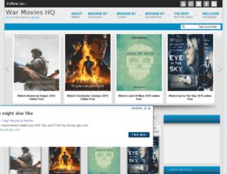 warmovieshq.com screenshot