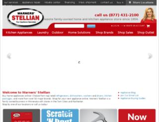 warnersstellian.creedinteractive.com screenshot