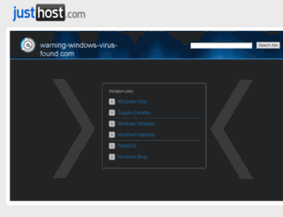 warning-windows-virus-found.com screenshot