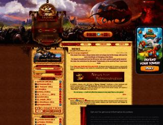 warofdragons.com screenshot