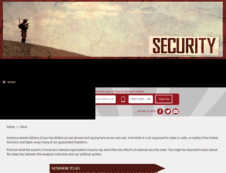 waronwhistleblowers-bravenew.nationbuilder.com screenshot