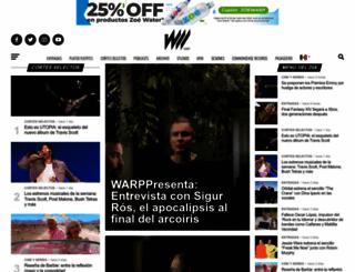 warp.la screenshot