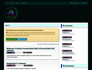 warp2search.net screenshot