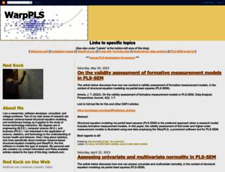 warppls.blogspot.fr screenshot