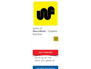 warrantedfitness.com screenshot