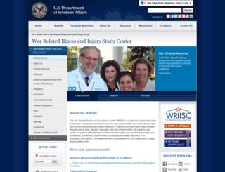 warrelatedillness.va.gov screenshot