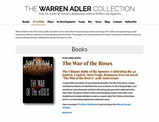 warrenadler.com screenshot