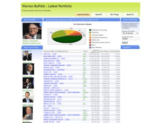 warrenbuffettstockportfolio.com screenshot